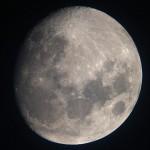 Fast voller Mond.