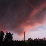 Drohende Regenwolken 2.
